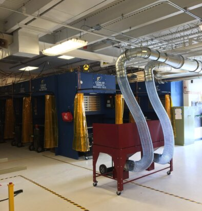Great Bay Community College, Rochester Creates New Welding Lab to Meet Workforce Demand